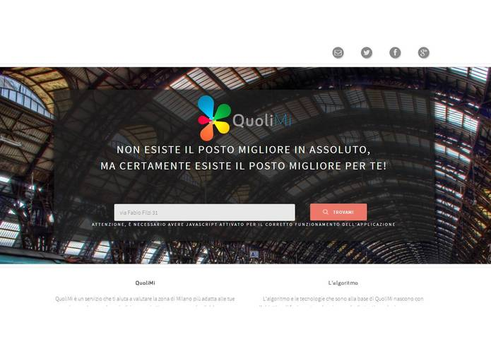 QuoliMi – screenshot 2