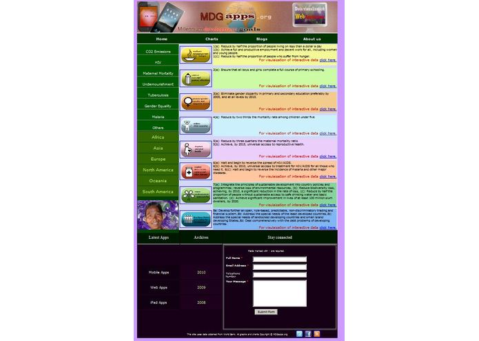 MdgApps – screenshot 1