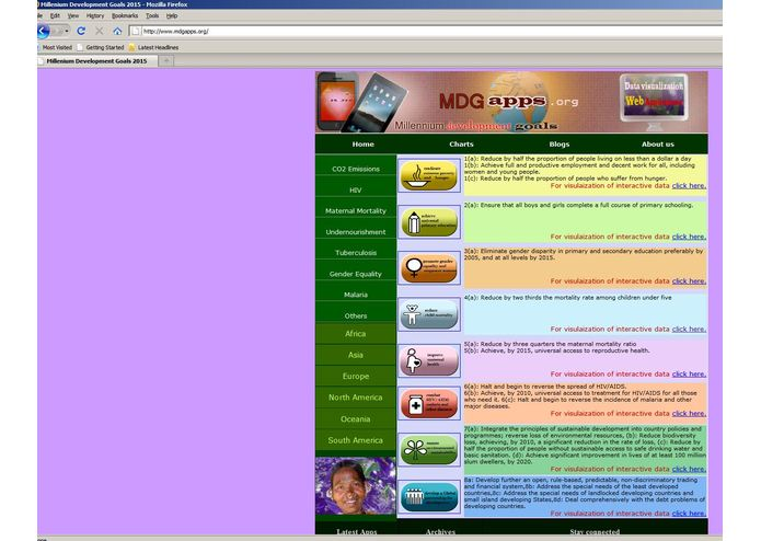 MdgApps – screenshot 2