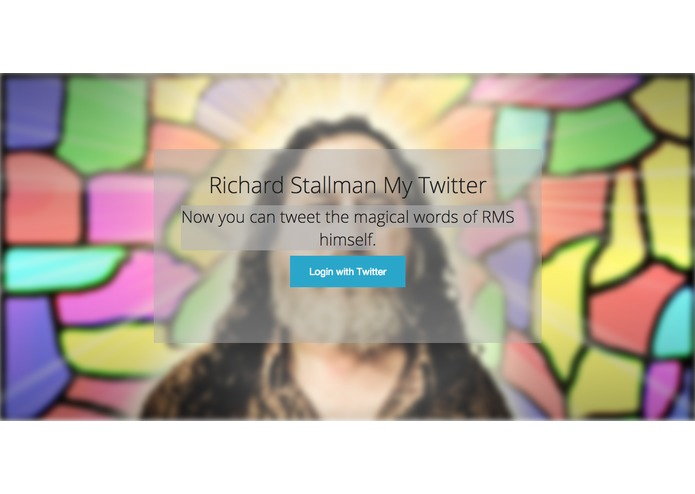 Richard Stallman Me – screenshot 1