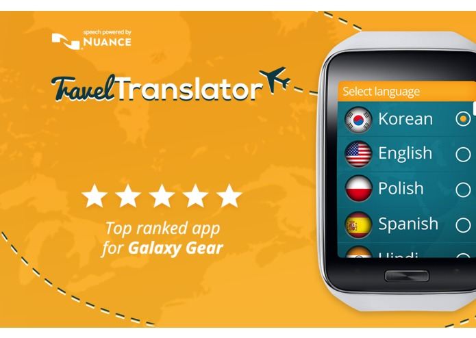 Travel Translator for Gear – screenshot 1