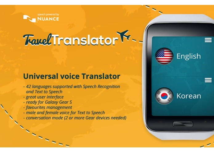 Travel Translator for Gear – screenshot 2