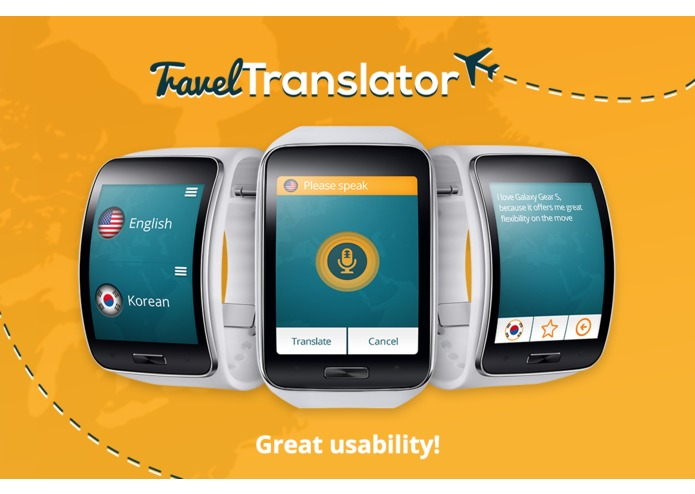 Travel Translator for Gear – screenshot 3
