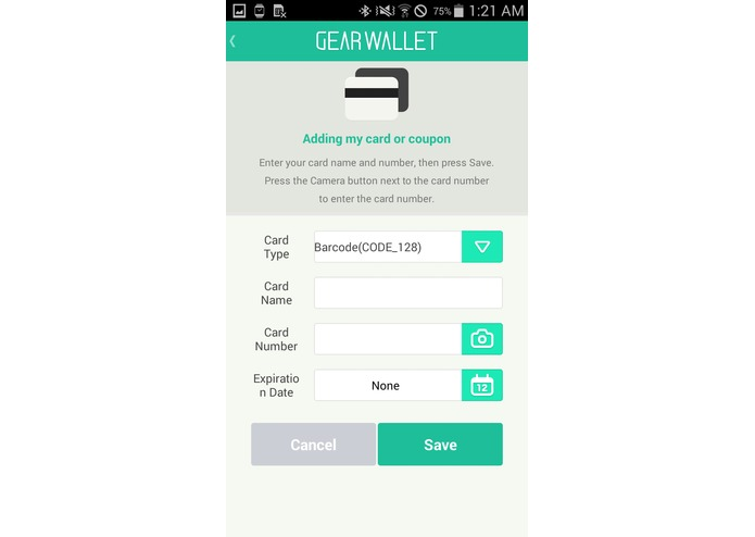 Gear Wallet – screenshot 3