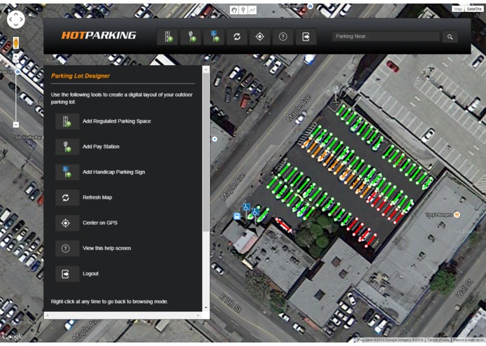 HotParking – screenshot 2