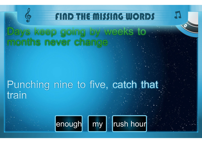 Lyrical: Learn English with Music – screenshot 4