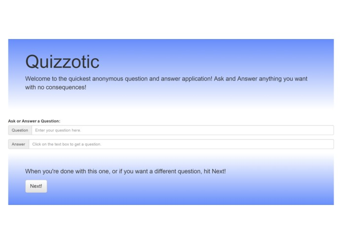 Quizzotic – screenshot 1