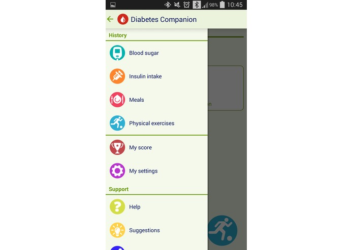 Diabetes Companion – screenshot 1