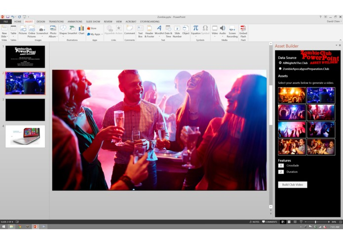 Zombie Club PowerPoint Asset Builder! – screenshot 2