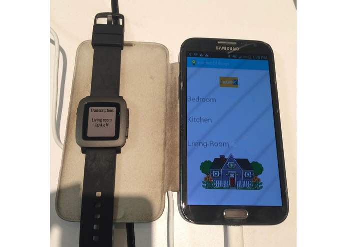 Pebble_Dictate_IOT – screenshot 1