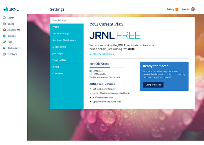 JRNL – screenshot 7
