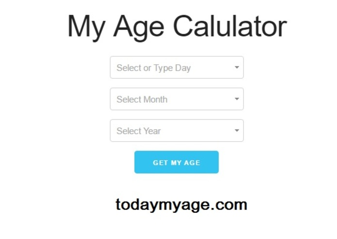 Age calculator – screenshot 1
