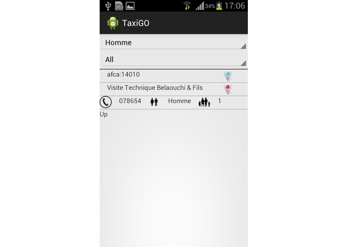 TaxiGO – screenshot 2