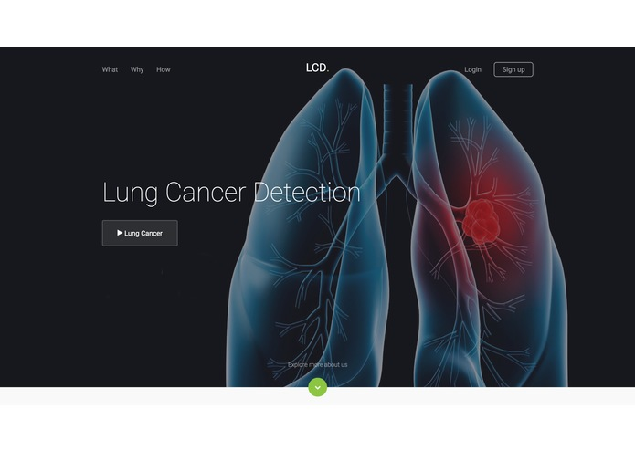 Lung Cancer Detection using Deep Learning – screenshot 1