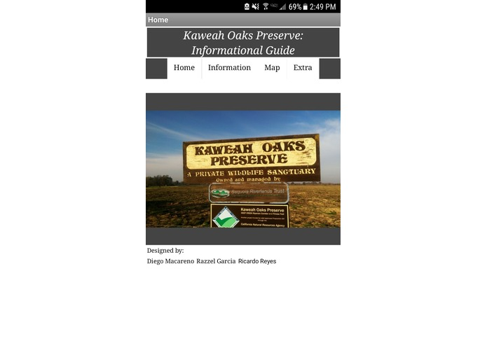Kaweah Oaks Preserve: Informational Guide – screenshot 1