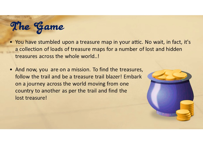 Lost Treasure – screenshot 1