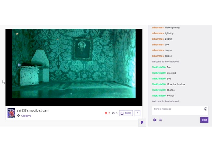 Twitch Plays: Horror House – screenshot 2