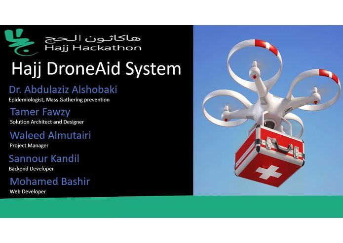 """L - 070 - Hajj DroneAid"" – screenshot 1"