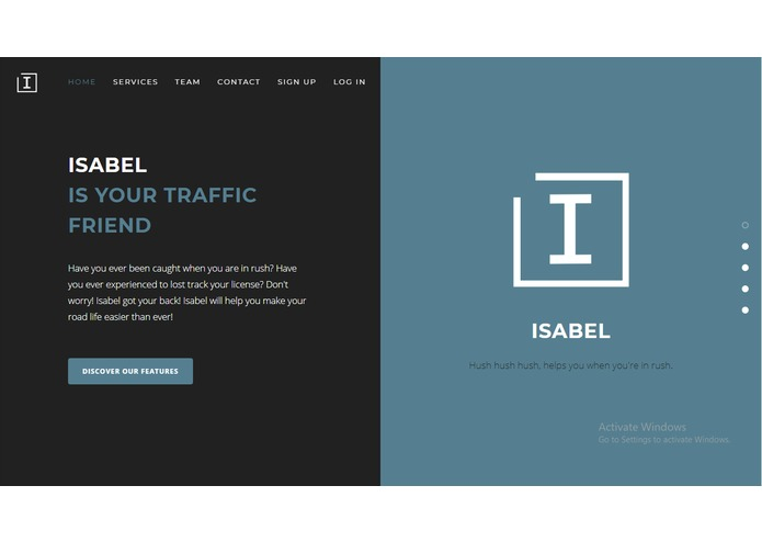 Isabel: Traffic Violation Ticket Issuance Application – screenshot 2