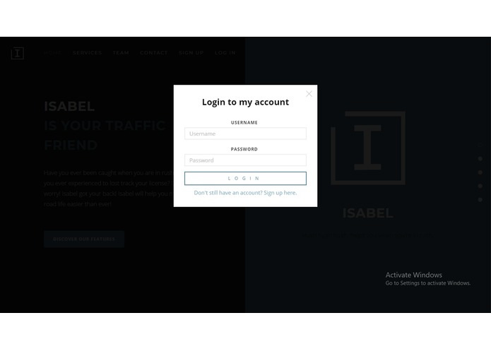 Isabel: Traffic Violation Ticket Issuance Application – screenshot 3