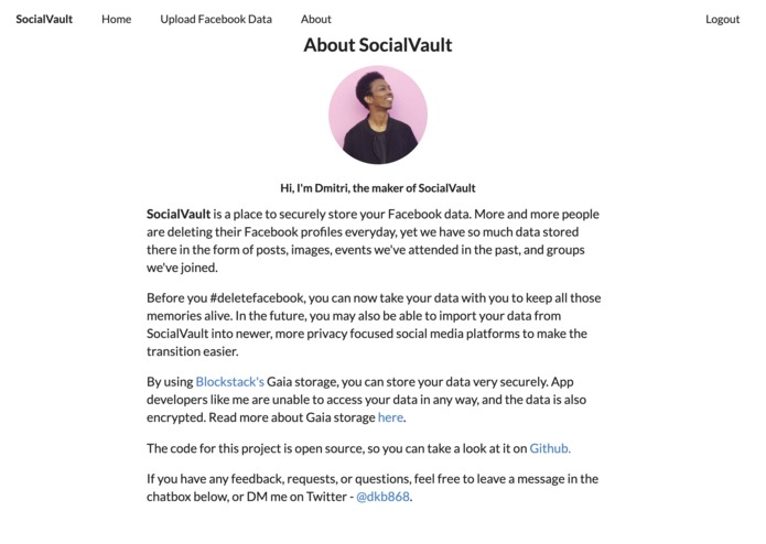 SocialVault – screenshot 7