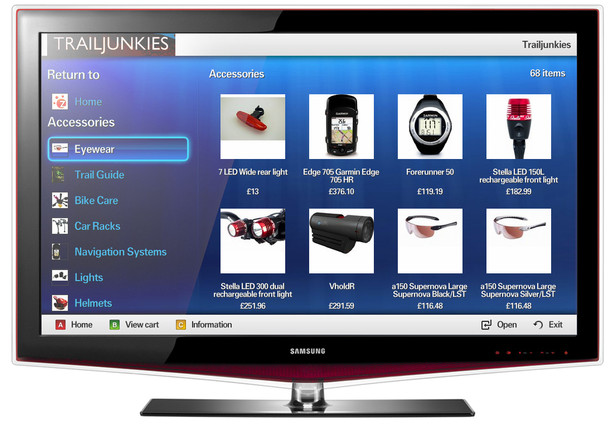 Zubibu tv online shopping in your living room samsung for Samsung smart tv living room