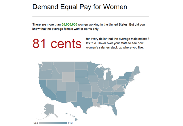 Equal Pay Statistics The Demand Equal Pay For Women