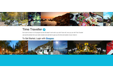 Time Traveler powered by FourSquare