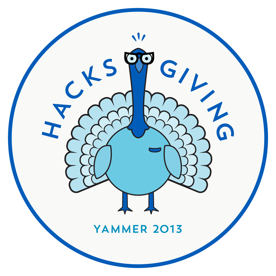 Yammer Happy Hacksgiving 2013