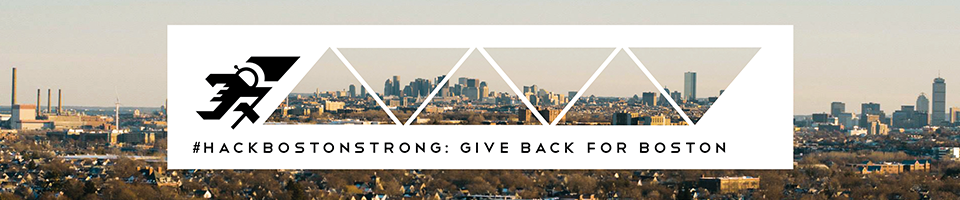 #HackBostonStrong: Give Back for Boston