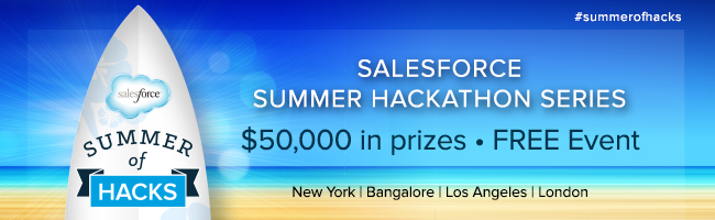 Salesforce Summer of Hacks - New York