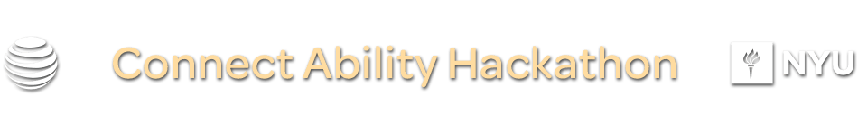 NYU ABILITY Technology Hackathon