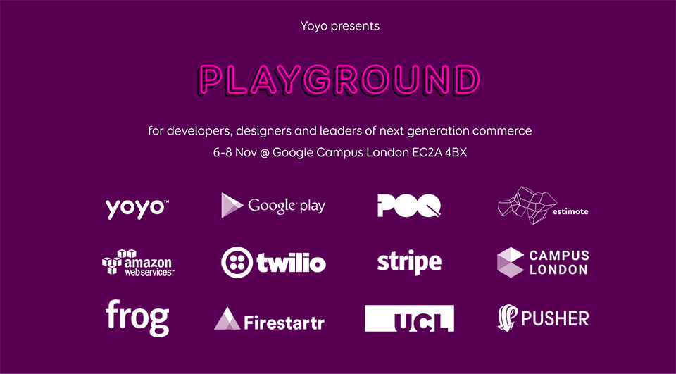 Playground: Next generation commerce hackathon