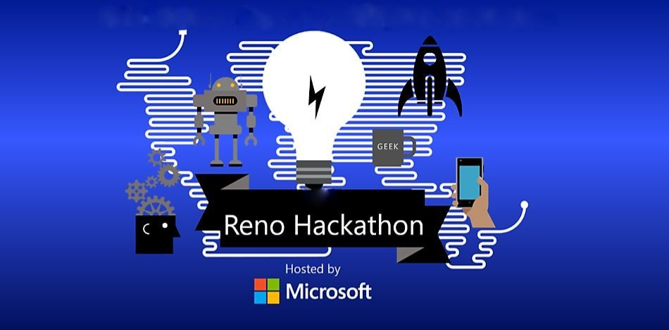 Reno Hackathon 2016, hosted by Microsoft