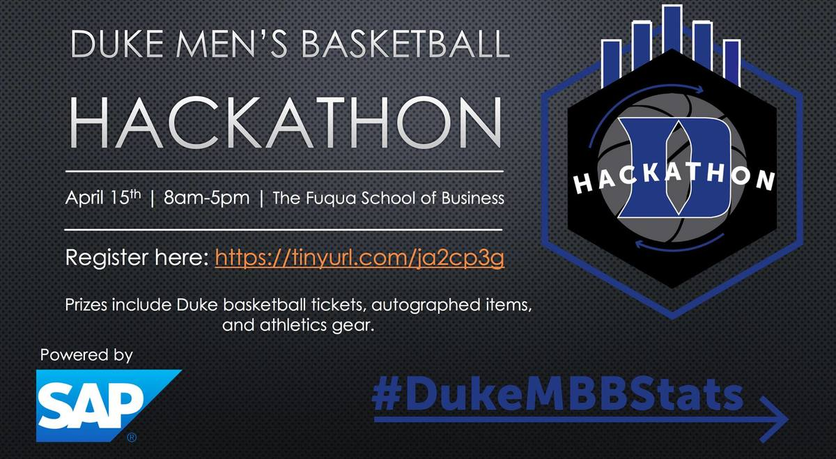Duke Men's Basketball Hackathon