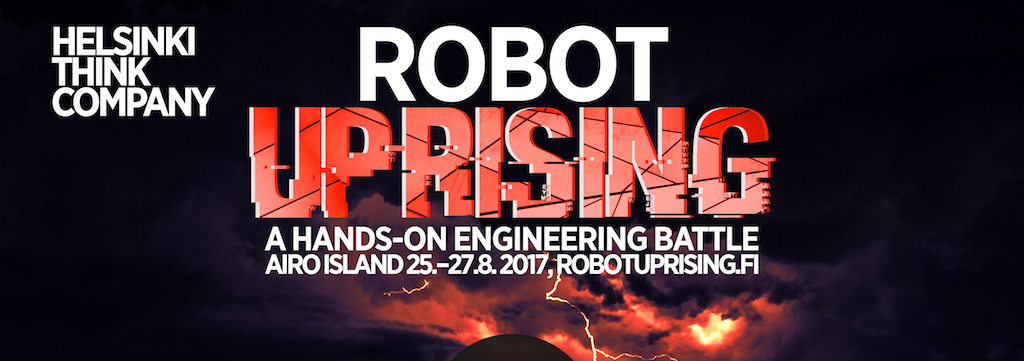 Helsinki RobotUprising Hackathon & Robotics and AI Event