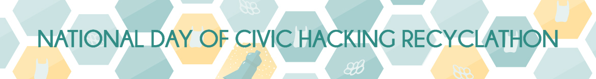 National Day of Civic Hacking Recyclathon
