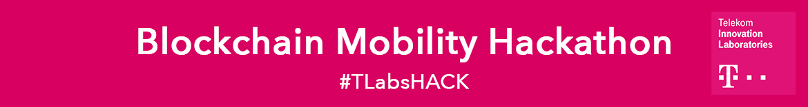 T-Labs & T-System Blockchain Mobility Hackathon Barcelona
