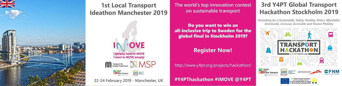 First Local Transport Ideathon Manchester - IMOVE
