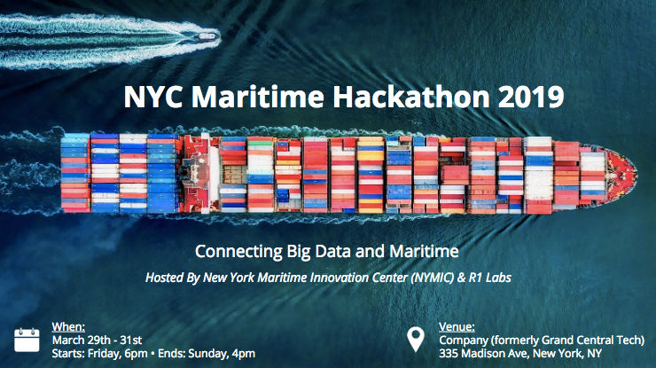 NYC Maritime Hackathon 2019: Connecting Big Data and Maritime