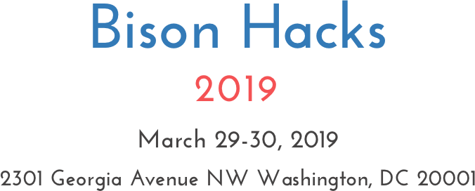 Bison Hacks 2019: Howard University School of Business 5th Annual Hackathon