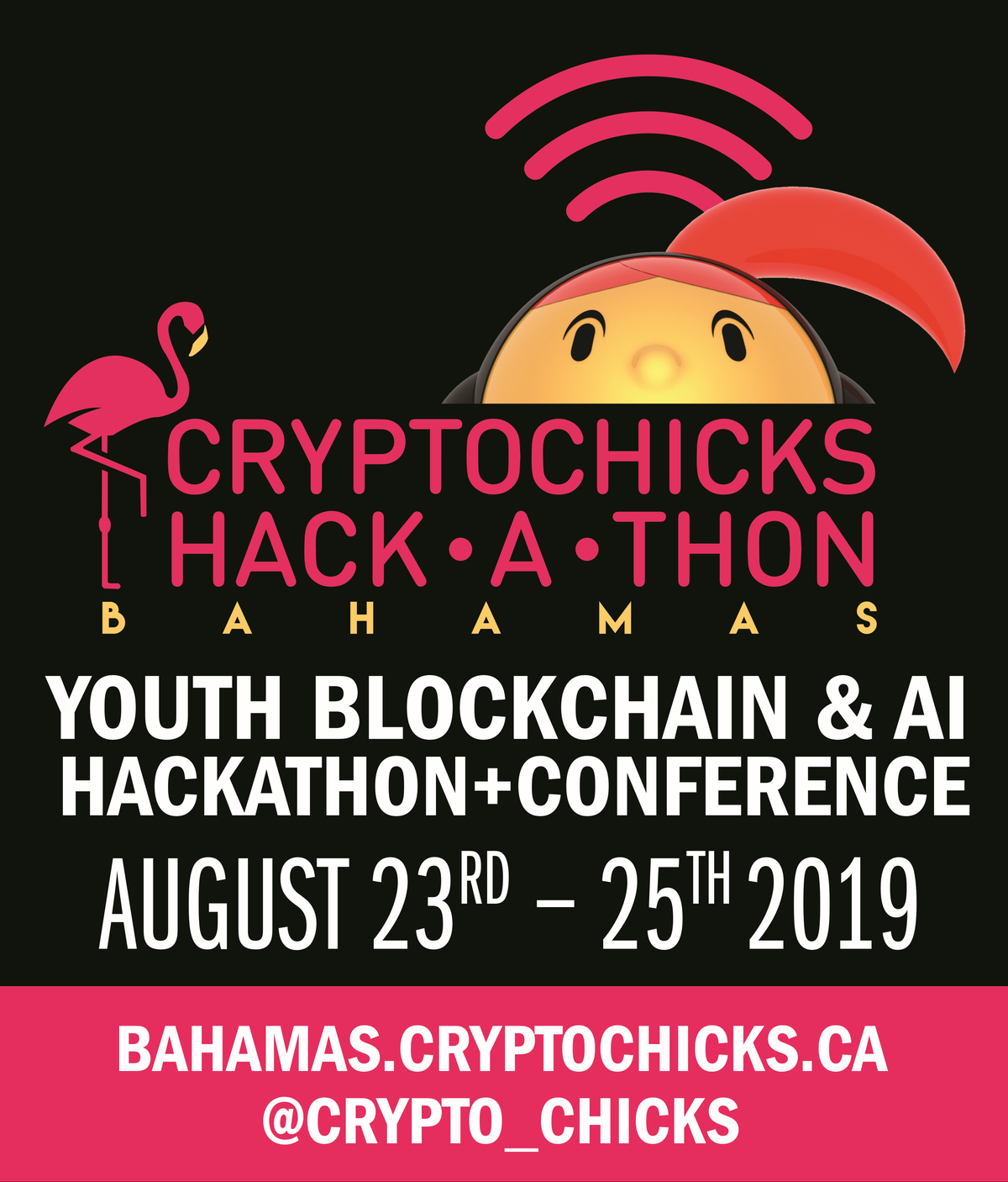 CryptoChicks Blockchain and AI Youth Hackathon 2019 in The Bahamas