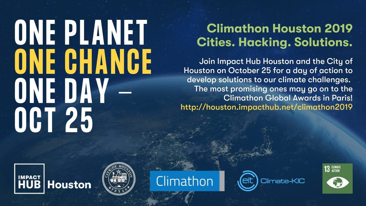 Climathon Houston 2019