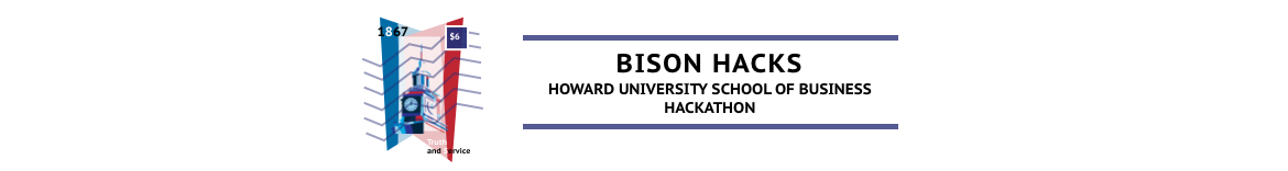 Bison Hacks 2020: Howard University School of Business Annual Hackathon