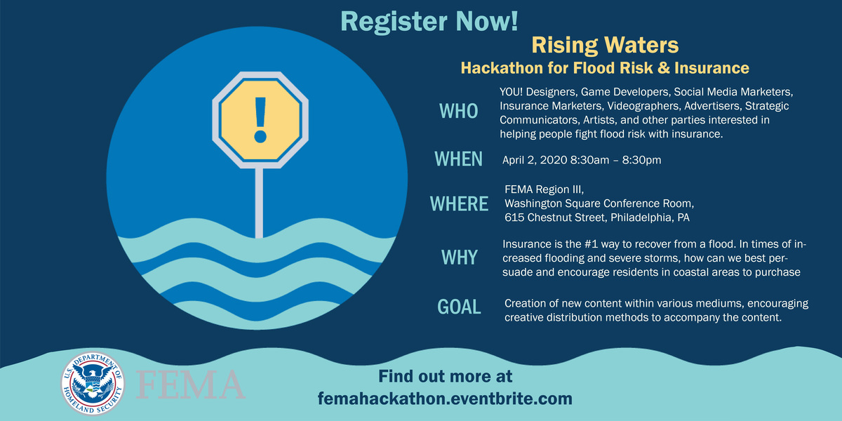 Rising Waters - FEMA Hackathon for Flood Risk & Insurance