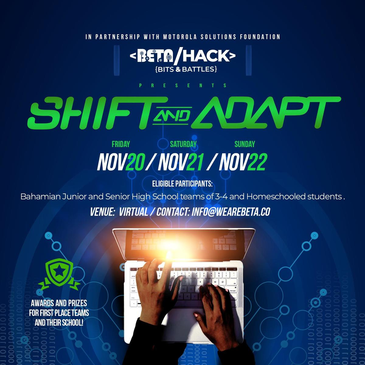 BETA Hack 2020: Shift and Adapt