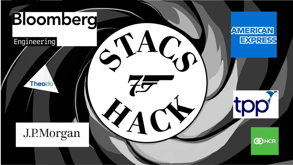 StacsHack 007, with Bloomberg & American Express