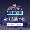 The Comcast-NBCUniversal Hackathon London