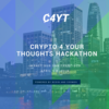 Crypto 4 Your Thoughts                     | Hackathon powered by bcoin + Cosmos