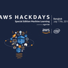 AWS Hackdays | Special Edition Machine Learning